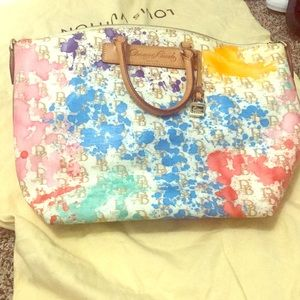 Dooney & Bourke Paint Splatter Purse (LARGE)